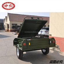 small car camping cargo box cage utility trailer