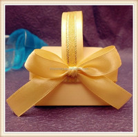 Polyester Satin Ribbon Bows Making For Gift