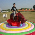 Popular Sale Shopping Malls Kids Entertainment Inflatable Mechanical Bull Rides for sale