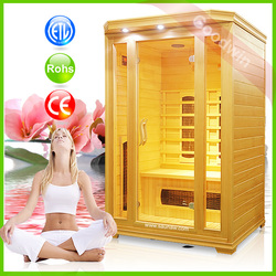 China Manufacturer High Quality 2 Person Sauna House GW-201