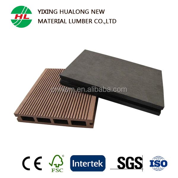 Good Quality Wood Plastic Composite WPC Decking for Outdoor Use