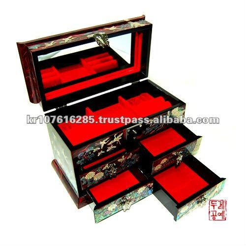Two Drawer Jewelry Box