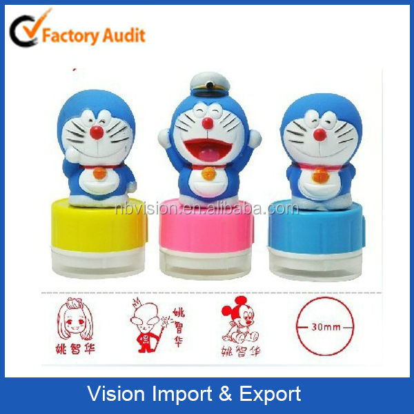 Cartoon Doraemon Collection Customized Stamp with Different Design