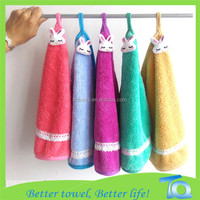Lint Free Color Microfiber Cloth / Absorption Well and Easy Washing Kitchen Towel