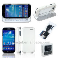 Wireless Bluetooth Slide Keyboard Case Cover For Samsung Galaxy S4 i9500