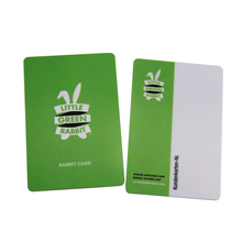 Manufacturer quality silver base plastic sample membership card vip card
