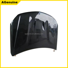 AG-C style High polish real carbon fiber bonnet front engine hood for Mercedes-Benz C class W205