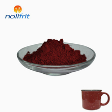 Direct wholesale price enamel / glass / ceramic pigment maroon for cookware