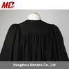 UK use no zipper Academic Gown Elastic Banded Back Graduation Gown academic regalia doctoral