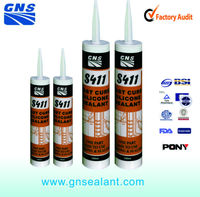 aquarium elastic silicone sealant gap filler