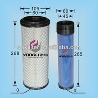 air filter element 129004-12520 129051-12530 for truck/bus/auto engine