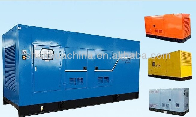 150kW Soudproof diesel engine generator set with automatic system