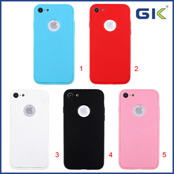 [GGIT] 360 Degree Protective Soft TPU Phone Case For IPhone 7 Celular Cover