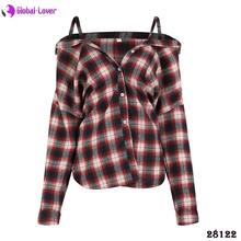 Wholesale Latest Design Western Casual Off Shoulder Sexy Tops Big Women