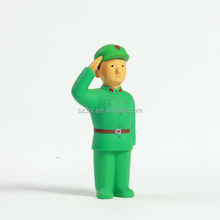 professonal make custom your own fantasy design home decor PVC toy/custom soldier statues plastic toy for sale