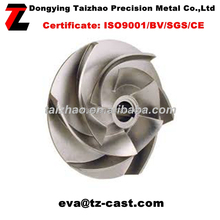turbo impeller/ Stainless Steel Pump Impeller TZ15