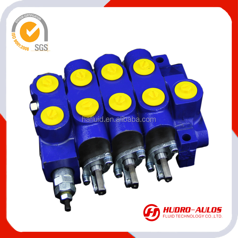1730R DCV50 50LPM hydraulic valve ,sectional directional control valve with floating function