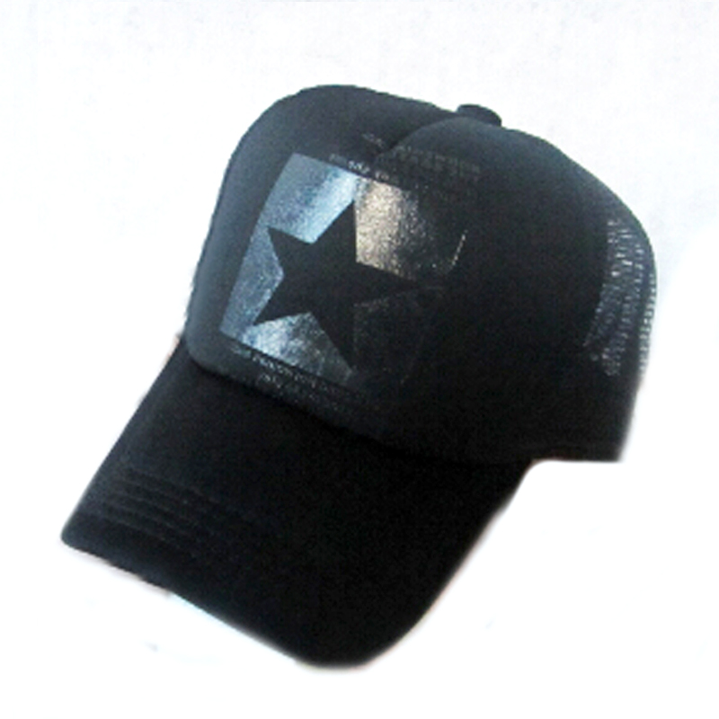 c1fa37b51f694 Get Quotations · 2015 five-pointed star mesh baseball caps trucker hat hip  hop polo hats bone snapback