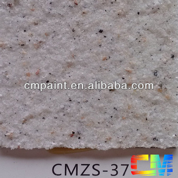 CMZS-37 Natural stone effect damping proof paint exterior finish