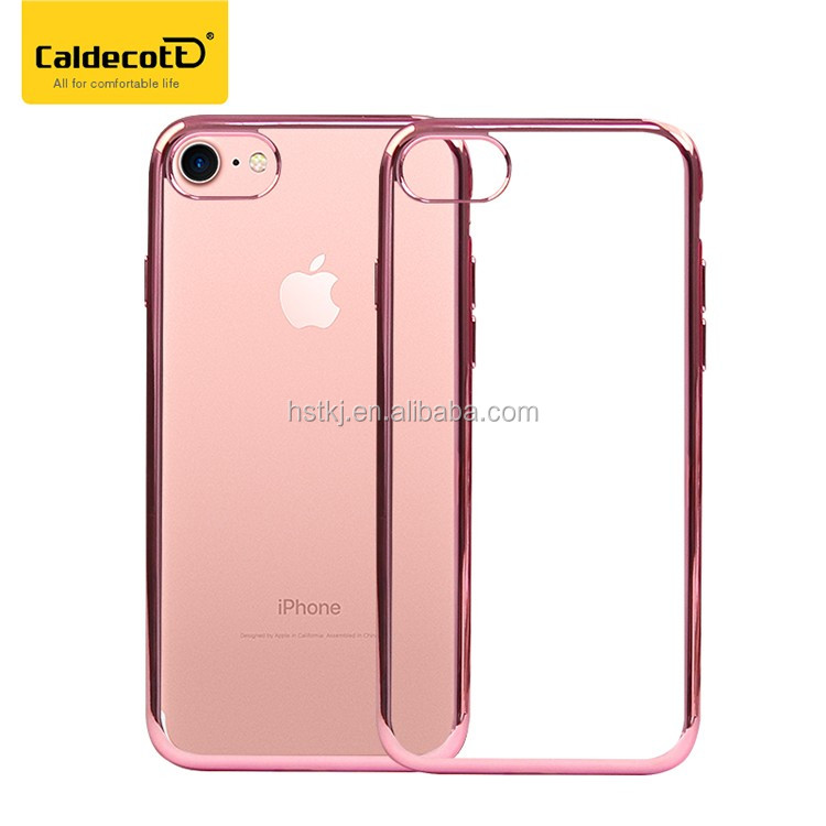 free sample clear transparent ultra thin tpu phone case for iphone 7/7 plus