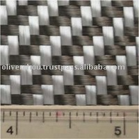 Carbon Fiber And Glass Fiber Hybrid Fabric