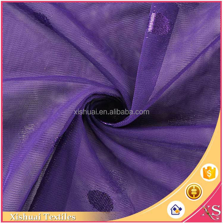 2016 new arrival Attractive Elegant Bronzing velvet dress fabric
