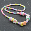 Handwork Kids Child Accessories Cute Necklace Little Girls Boutique Quality Chunky Plastic Beads