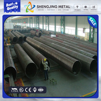 2016 Wholesale top quality astm a252 grade2 LSAW / spiral steel pipe pile