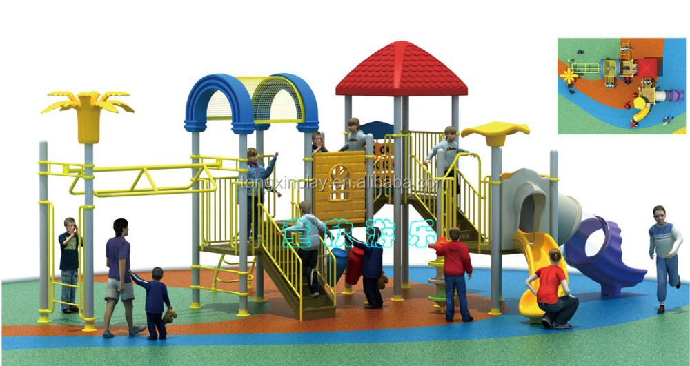 customized factory price China 2015 used playground equipment for sale TX-5059A