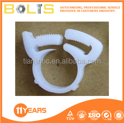 High Pressure plastic hose clamp