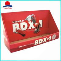 High Quality Merchandising Display Box, Red Counter Display Box