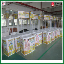 Promotion table with ABS materials and update design for outdoor display