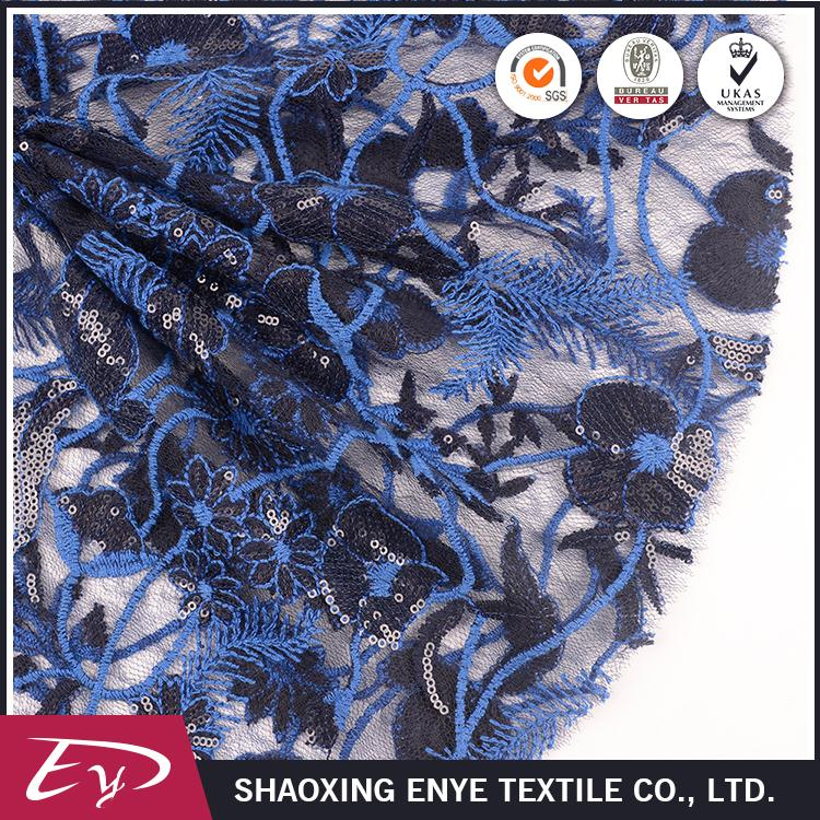 New design Oeko-Tex certified beautiful dress bridal lace fabric wholesale