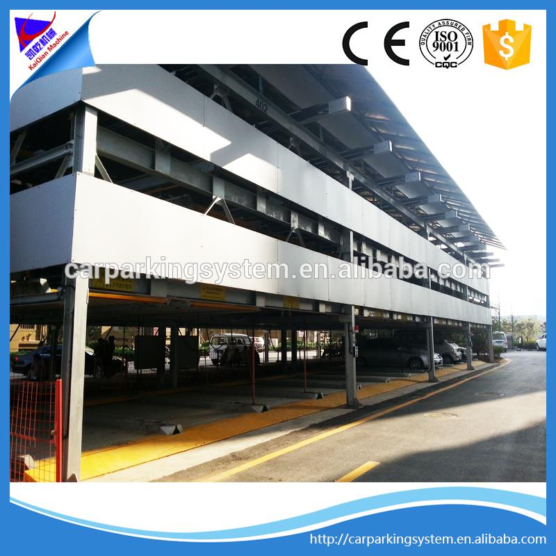 multi-layer level floor smart car parking system hotel automation system puzzle parking systems