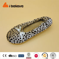 High quality best price pretty sexy leopard print dance shoes