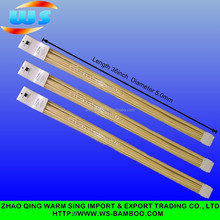 High Quality Disposable wholesale rotating BBQ Stick BBQ bamboo skewer 5.0mm*36inch marshmallow roasting sticks
