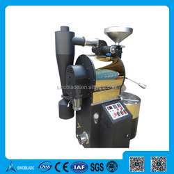 Commercial Coffee Bean Roaster 6KG LPG Gas Heating Roasting Cocoa Machine