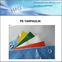 Best sale 100% new PE Tarpaulin blue flame-retardant fabric tarpaulin sewing