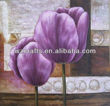 customized size flower painting oil paintings gallery