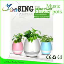 artificial flower led light flower pot led music dancing furniture waterproof LED flower planter illuminated led flower vase pot