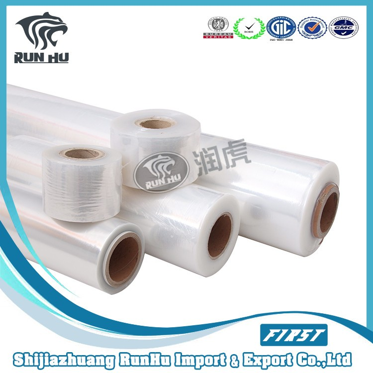Alibaba china hot sales Clear LLDPE stretch film
