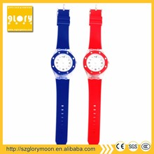 Durable Rubber ROHS women watch brands ranking