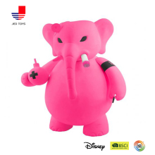 bulk waterproof plastic pink elephant animals toys