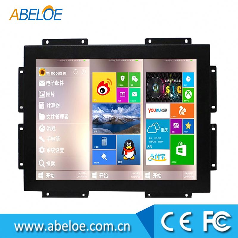 "7"" 10"" 12"" 15"" 17"" 19"" inch open frame lcd touch screen monitor"