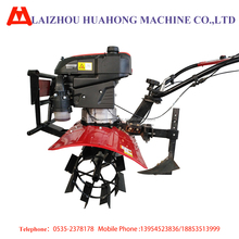 7.5hp gasoline vertical shaft used tiller for sale ridging plough garden tillage equipment