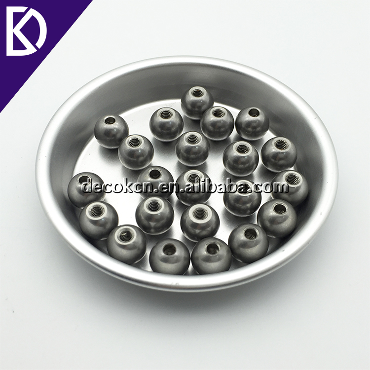 12.7mm 10mm 9mm 8mm 7mm 6mm threaded steel ball with M3 hole