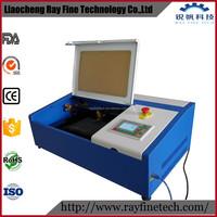 cheap 40w co2 laser engraving cutting 3d glass cube laser engraver machine