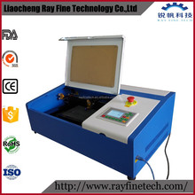 cheap 40w co2 laser engraving cutting 3d glass cube laser engraver machine