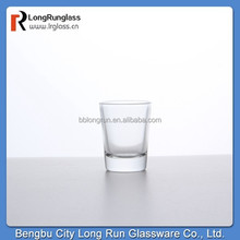 Longrun china supply wholesale glassware Classic design shot glasses chinese tableware made in china