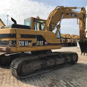 Second Hand construction Caterpillar 320D2 crawler excavator machine CAT 320B 320C 330C used excavator